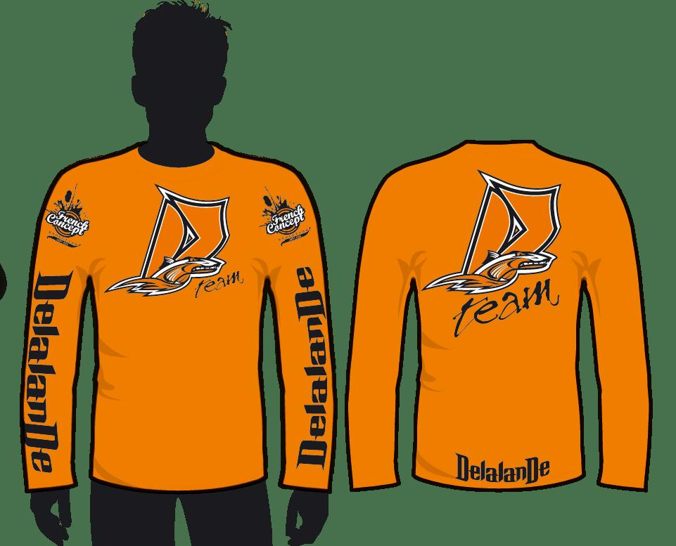 Tshirt ML orange