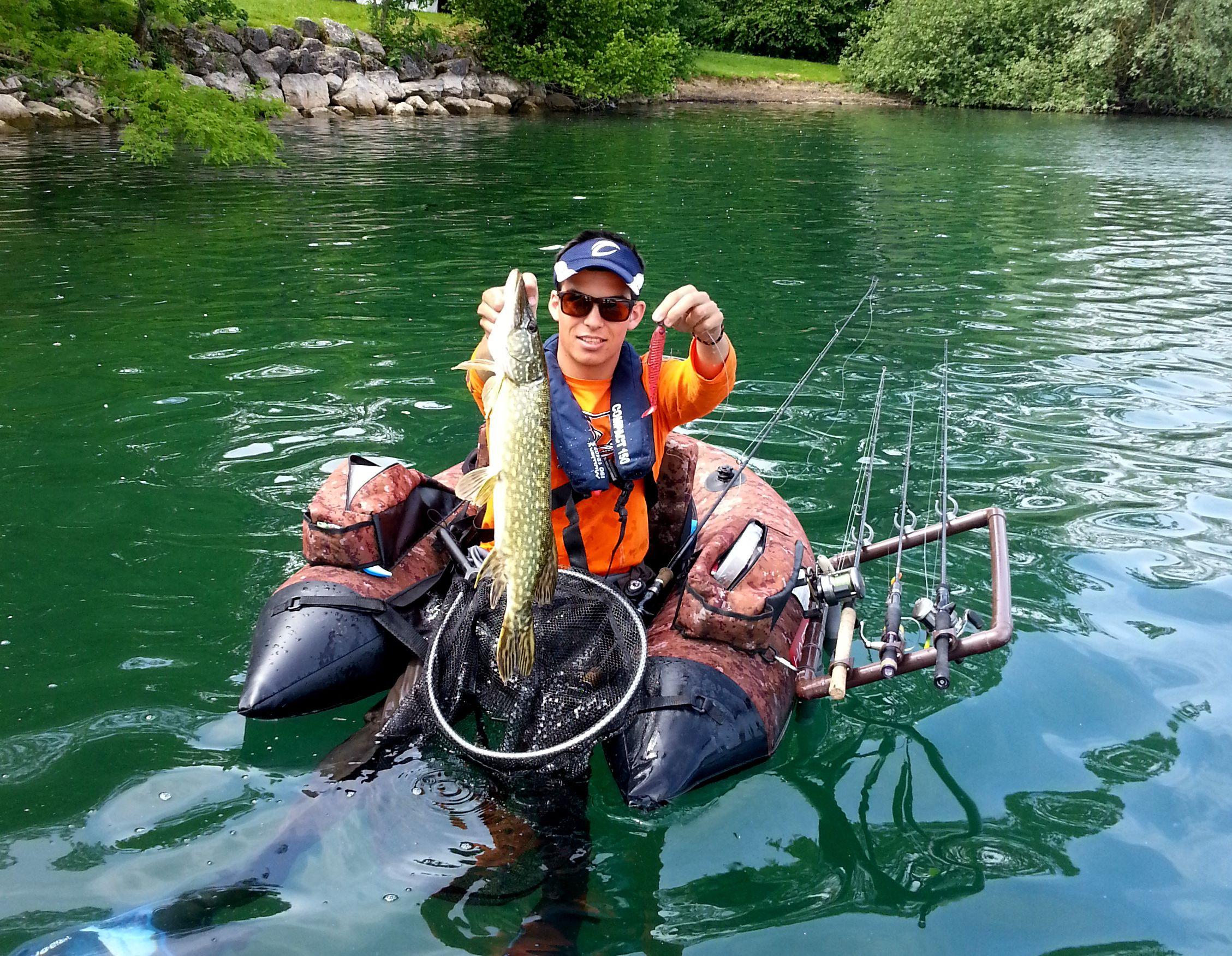 Compte-rendu manche Float-Tube Gn Carla au lac de Paladru