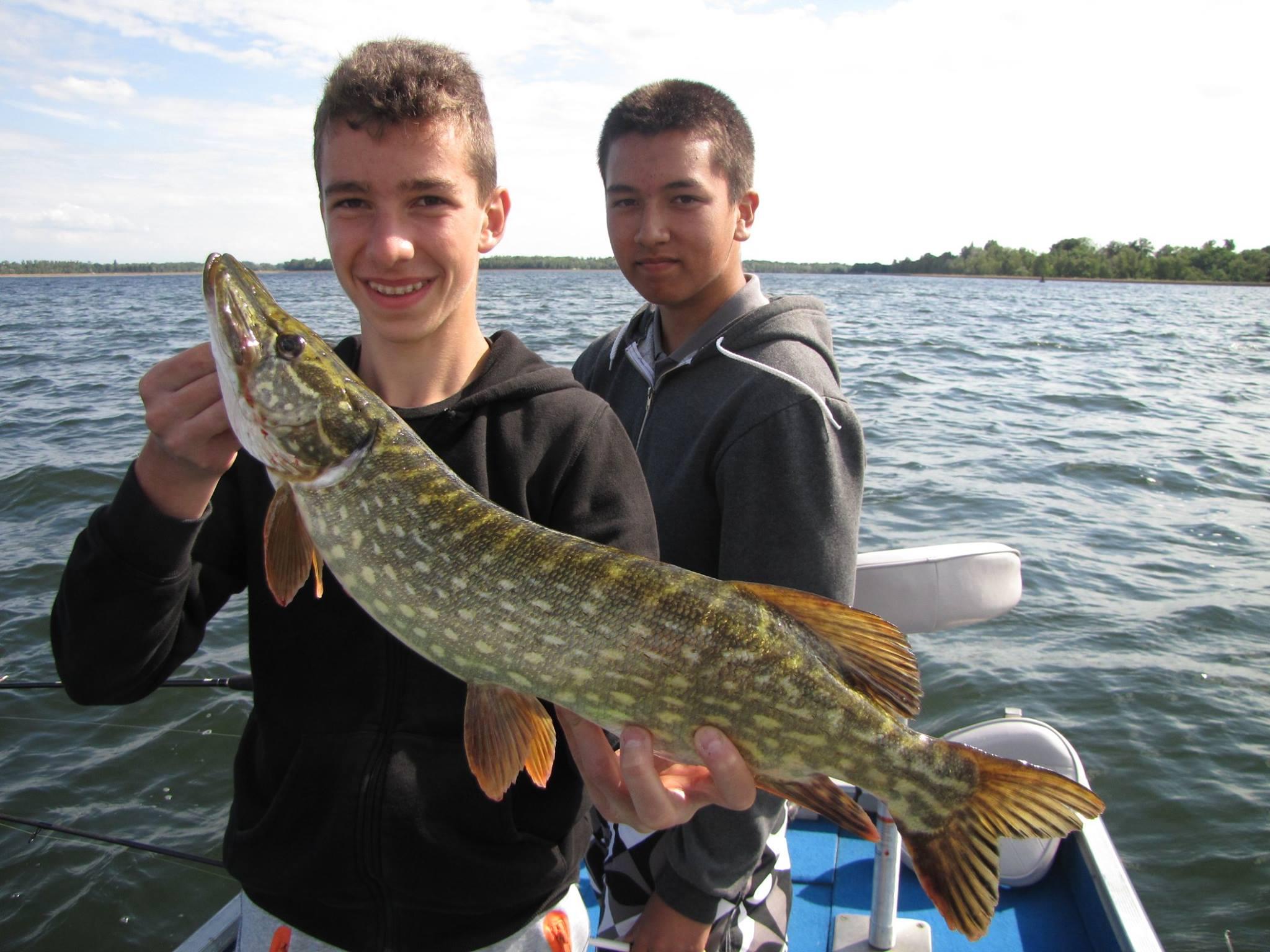 Découverte pêche des carnassiers en bateau à Plobsheim